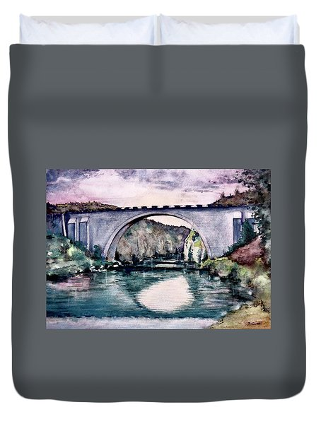 Saint Bridge Duvet Cover