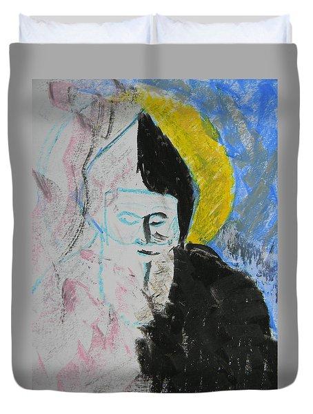 Saint Charbel Duvet Cover