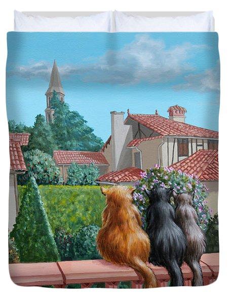 Saint-frajou. August. Duvet Cover