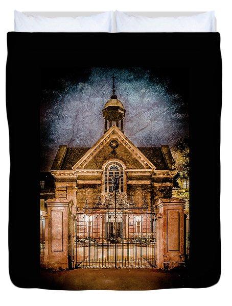 Oxford, England - Saint Hugh's Duvet Cover