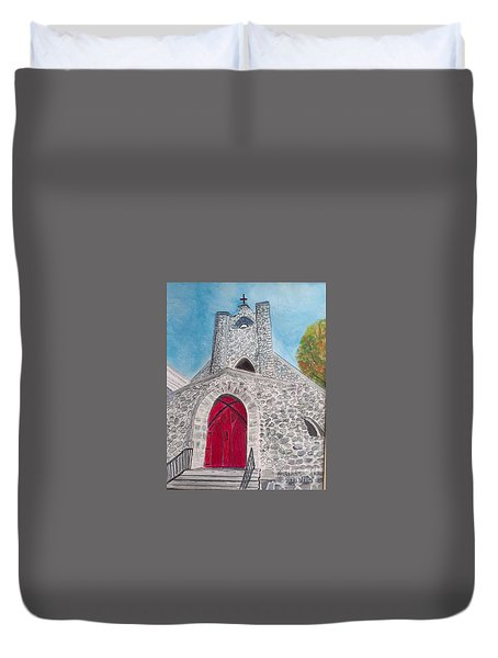 Saint James Episcopal Church Duvet Cover