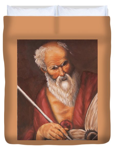 Saint Jerome Duvet Cover