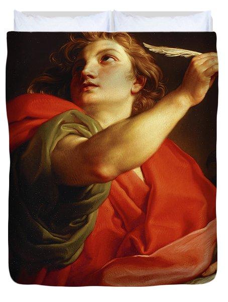 Saint John The Evangelist Duvet Cover