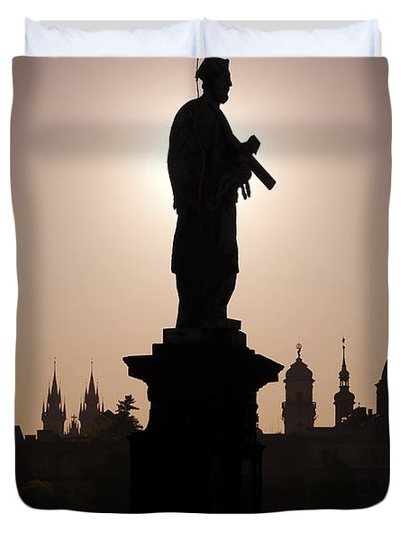 Saint Duvet Cover