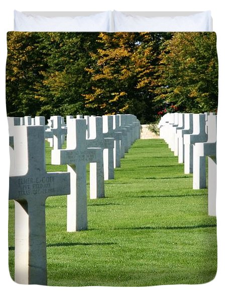 Saint Mihiel American Cemetery Duvet Cover