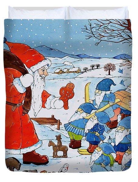 Saint Nicholas Duvet Cover by Christian Kaempf