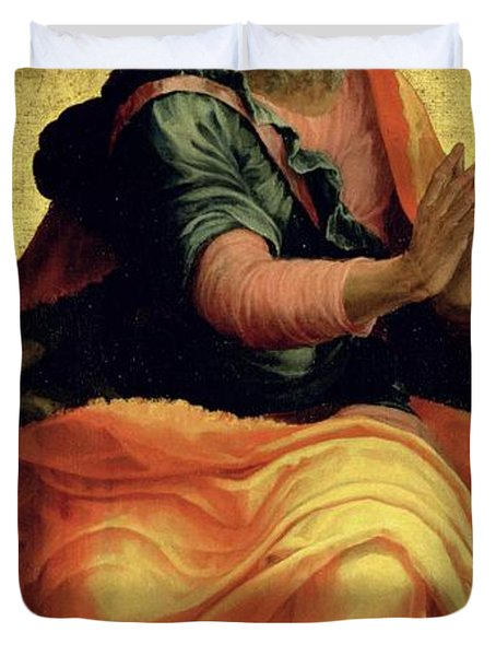Saint Paul The Apostle Duvet Cover by Marco Pino