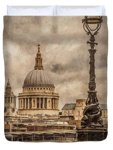 London, England - Saint Paul's Duvet Cover