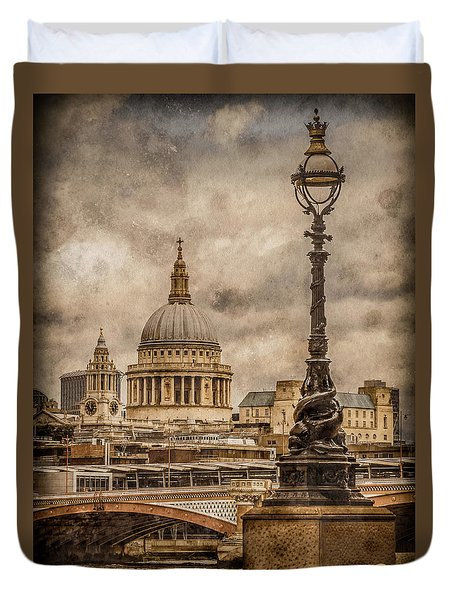 London, England - Saint Paul's Duvet Cover