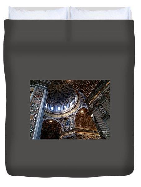 Saint Peter's Dome Duvet Cover