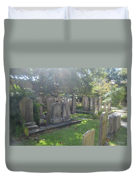Saint Phillips Cemetery 4 Duvet Cover by Gordon Mooneyhan