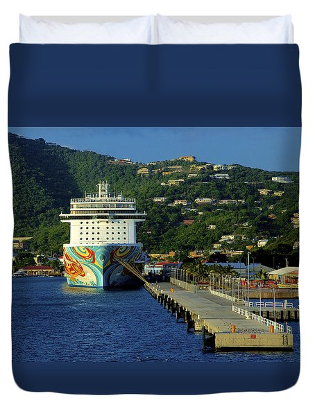 Saint Thomas Getaway Duvet Cover