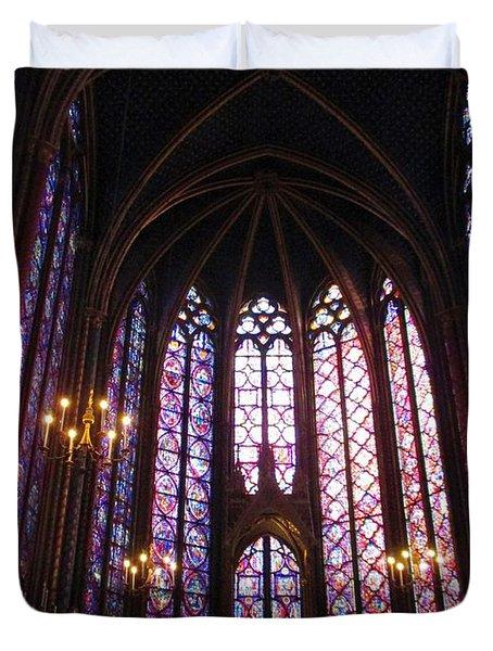 Sainte-chapelle Duvet Cover