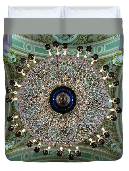 Saints Peter And Paul Fortress Duvet Cover