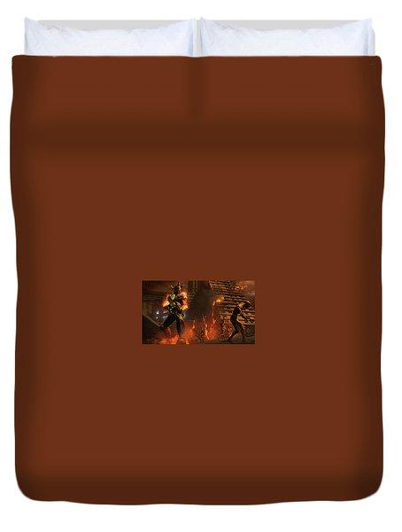 Saints Row Iv Re-elected Duvet Cover