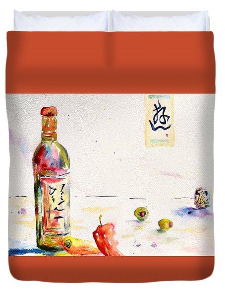 Sake Duvet Cover