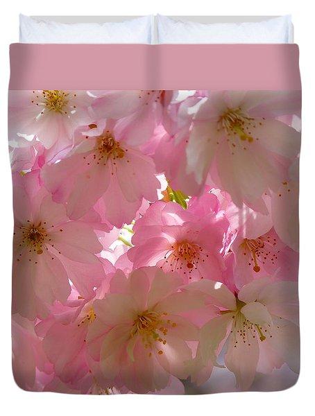 Sakura - Japanese Cherry Blossom Duvet Cover