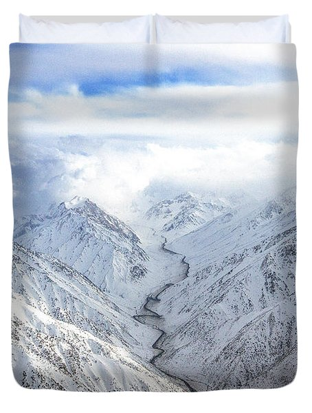 Salang Pass Duvet Cover