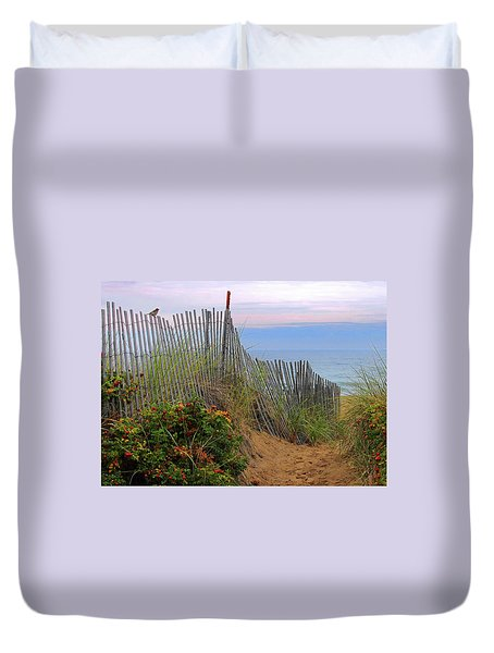 Salisbury Beach Duvet Cover