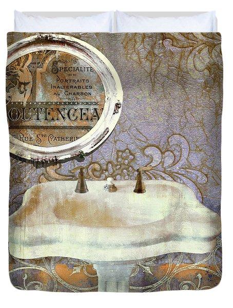 Salle de bain iv painting by mindy sommers for Salle de bain art nouveau