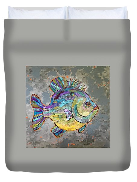 Sally Sunfish Duvet Cover