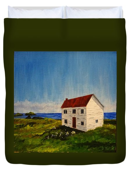 Saltbox House Duvet Cover