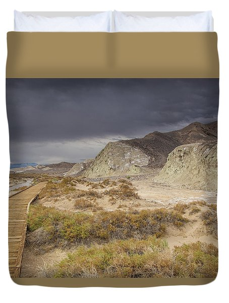 Salt Creek Trail Duvet Cover