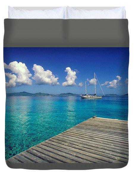 Salt Island Ancorage Duvet Cover