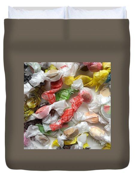 Salt Water Taffy No. 2 Duvet Cover by Patricia E Sundik