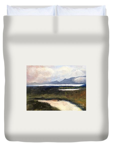 Salton Sea Duvet Cover