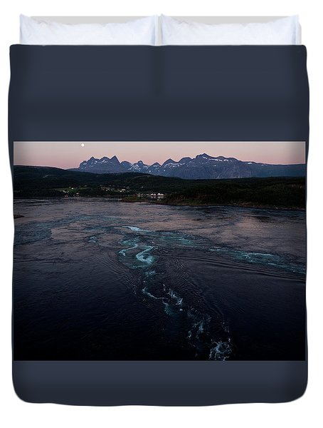 Saltstraumen, Magic Power Stream Duvet Cover