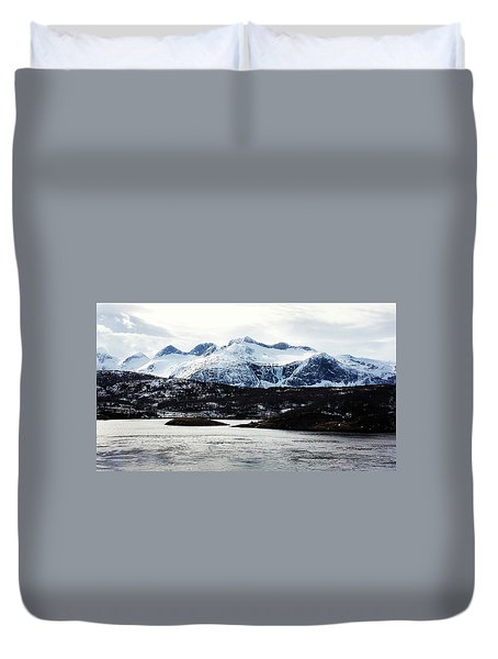 Saltstraumen Duvet Cover