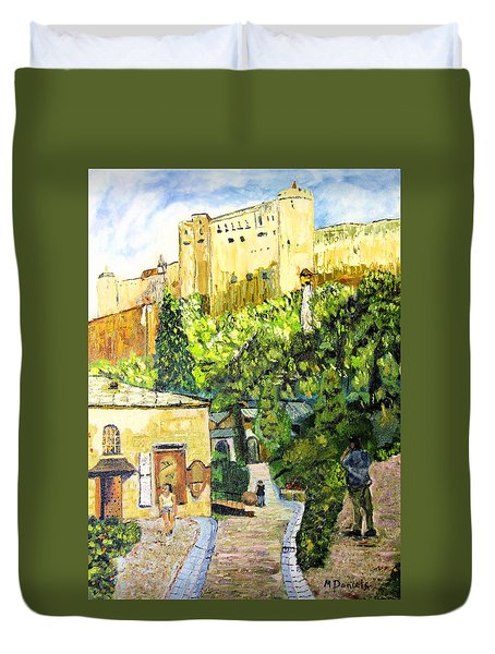 Saltzburg Duvet Cover by Michael Daniels