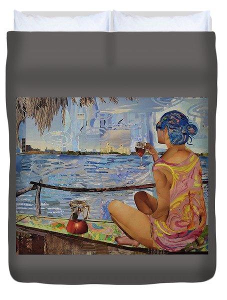 Salud Leyla Duvet Cover