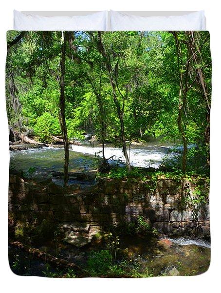 Saluda River Columbia Sc Duvet Cover