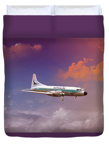 Salute To Herman Duvet Cover