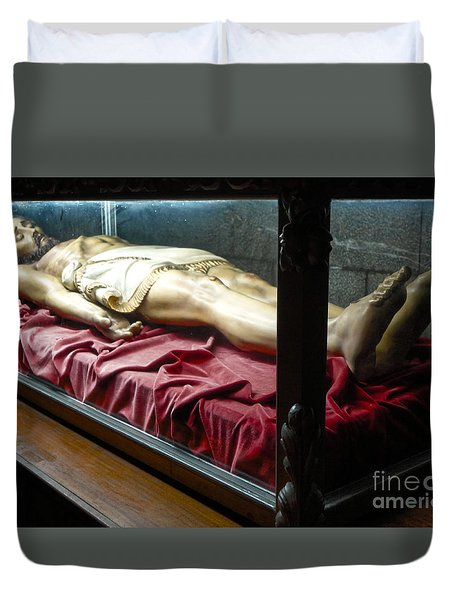 Duvet Cover featuring the photograph Salvador Dali Museum Church Of St.peter by Gregory Dyer