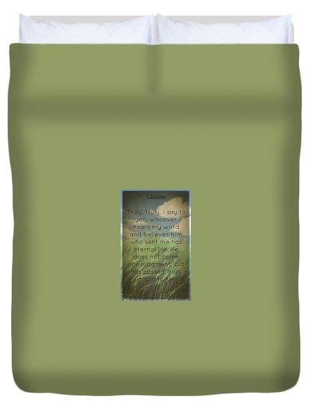 Salvation 454 Duvet Cover