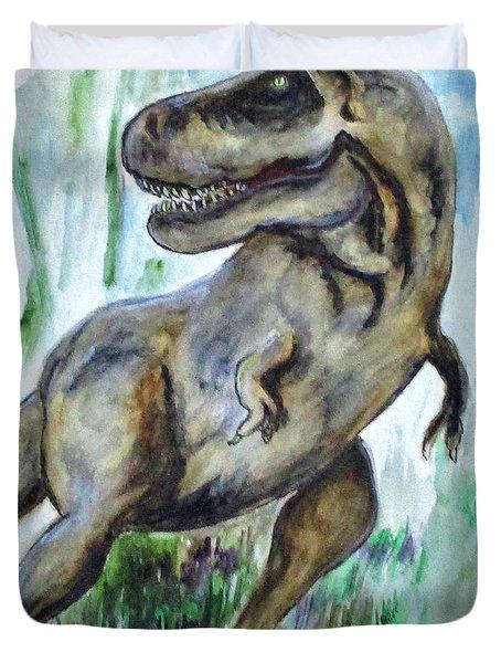 Salvatori Dinosaur Duvet Cover