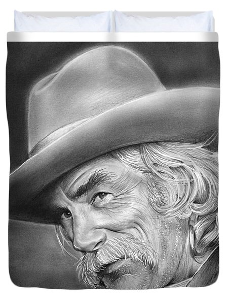 Sam Elliott Duvet Cover