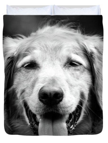 Sam Smiling Duvet Cover