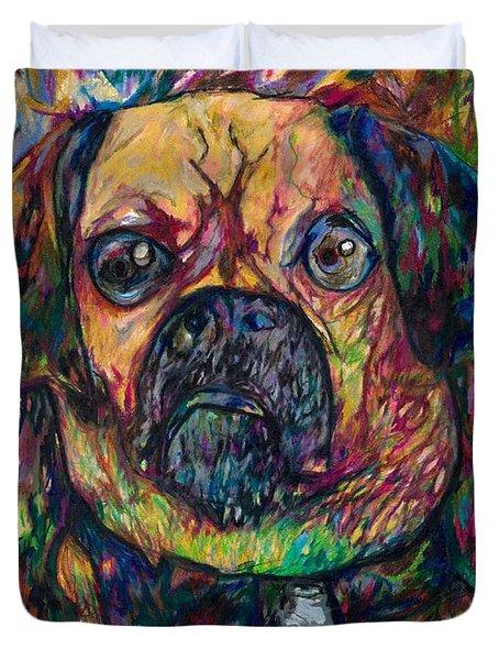 Sam The Dog Duvet Cover