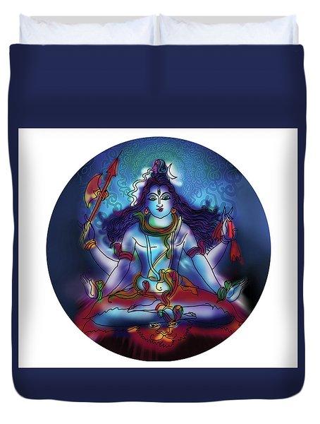 Samadhi Shiva Duvet Cover