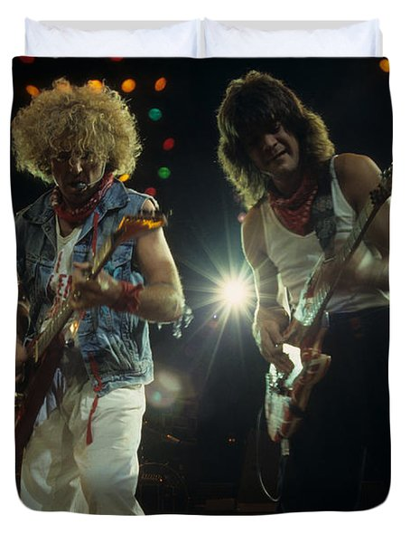 Sammy And Eddie 5150 Duvet Cover