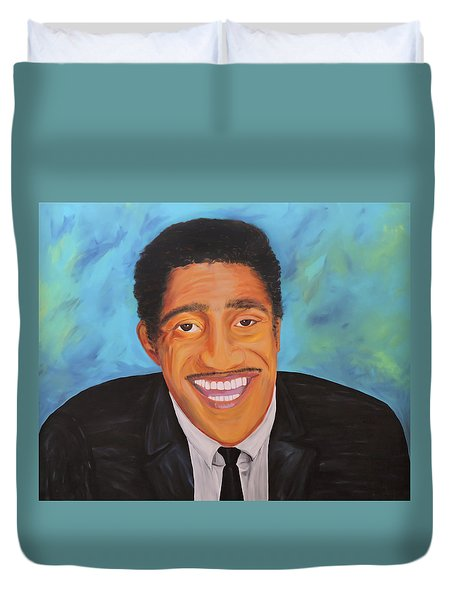 Sammy Smiles Duvet Cover