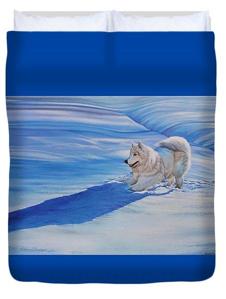 Samoyed Duvet Cover