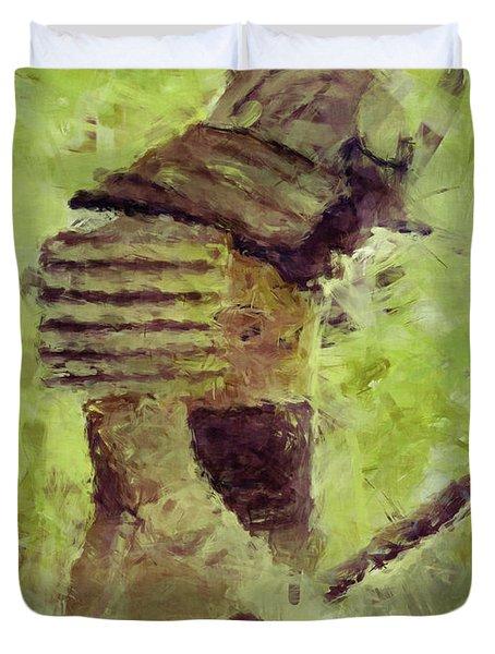 Samurai 3 Duvet Cover