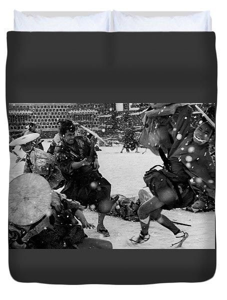 Samurai Assisin Toshiro Mifune Duvet Cover