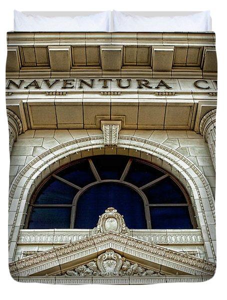 San Buenaventura City Hall Duvet Cover