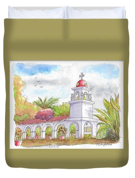 San Clemente Mission Parish, Bakersfield, California Duvet Cover